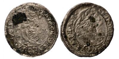 I. Lipót denár 1697 C-M