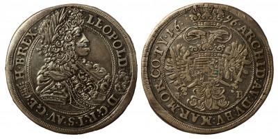 Leopold I. 1/2 taler 1696 KB