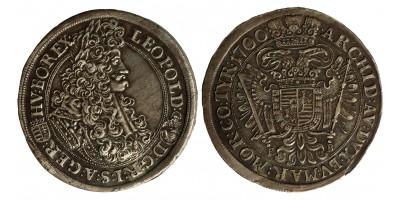 Leopold I. 1/2 taler 1700 KB