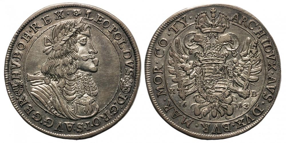 I.Lipót tallér 1682 KB.