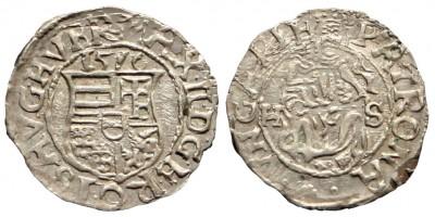 Miksa denár 1576 HS