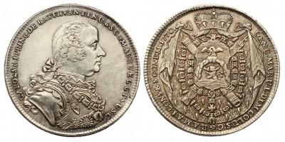 Batthyány Károly (1698-1772) 1/2 tallér 1770