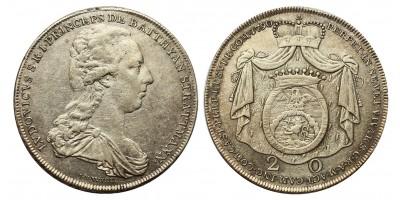 Batthyány Lajos (1788–1806) 20 krajcár 1790