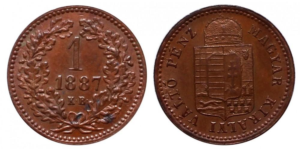 1 Krajcár 1887 KB