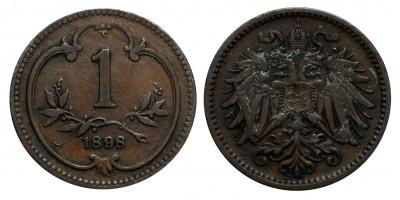 Ausztria 1 heller 1898
