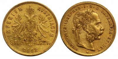 Ferenc József 8 Florin 1882