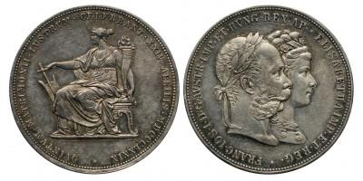 Ezüstlakodalom 2 gulden 1879