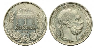 1 Korona 1896 KB.