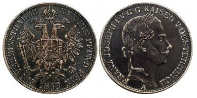 Ausztria Vereinsthaler 1859 A