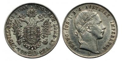 Ferenc József 20 krajcár 1853 A