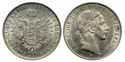 Ferenc József 20 krajcár 1854 A