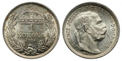 1 Korona 1914 KB.