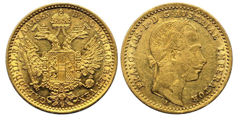 Ferenc József dukát 1863 A