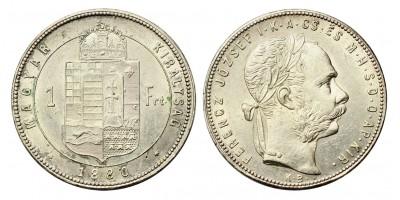 Ferenc József forint 1880 KB