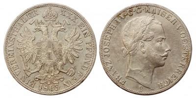 Ferenc József vereinstaler 1863 B