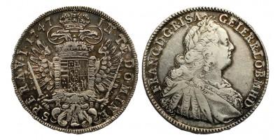 Lotharingiai Ferenc tallér 1747 KB.