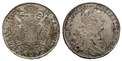 Lotharingiai Ferenc tallér 1752 KB.