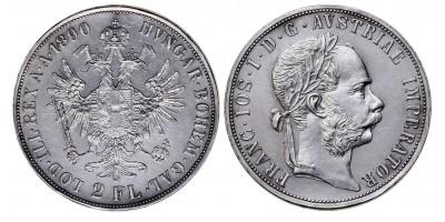 Ferenc József 2 forint 1890