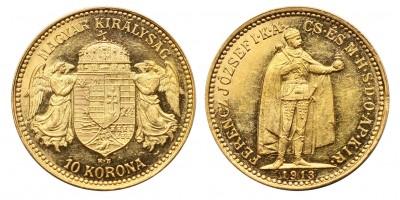 Ferenc József 10 Korona 1913