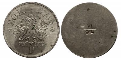Ferenc József arany 20 korona pénz súly