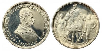 1 Korona 1896 Proof