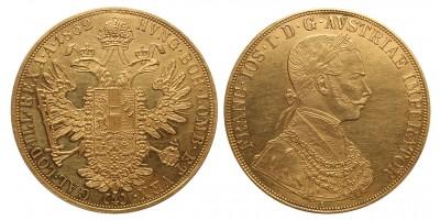 Ferenc József 4  dukát 1862 A
