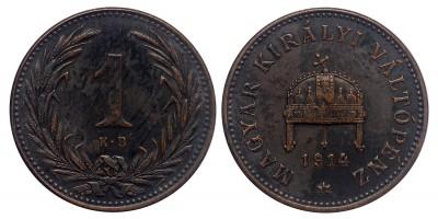 Ferenc József 1 fillér 1914 KB