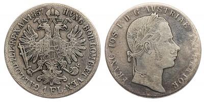 Ferenc József gulden 1857 B R!
