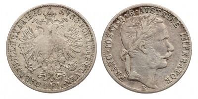 Ferenc József gulden 1866 E R!