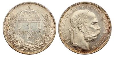 Ferenc József 1 Korona 1896 KB.