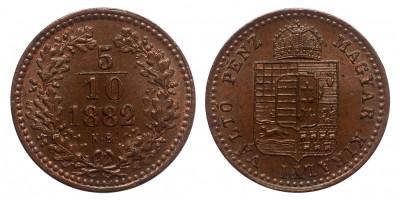 5/10 Krajcár 1882 KB