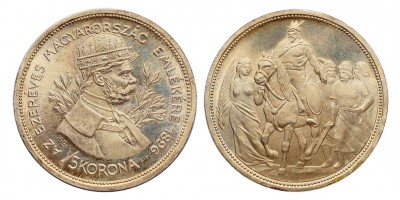 5 Korona 1896 U.P.