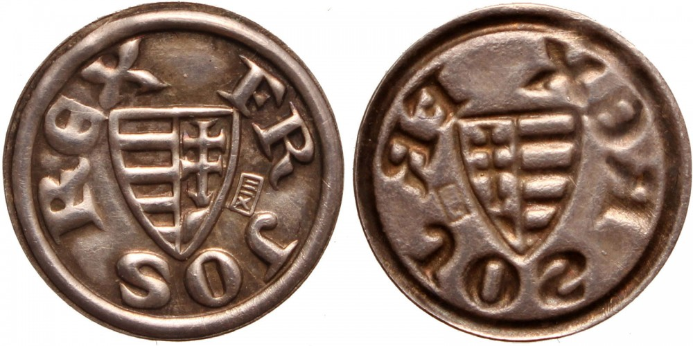 Ferenc József Millenniumi bracteata 1896 RR!