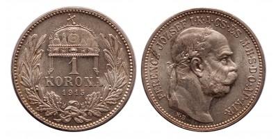 Ferenc József 1 Korona 1915 KB.