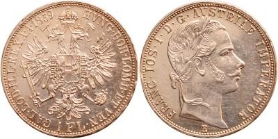 Ferenc József gulden 1859 E