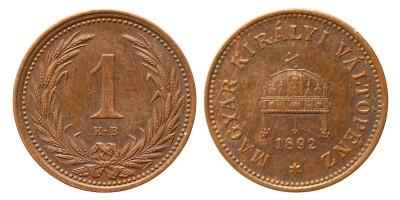 1 fillér 1892 KB