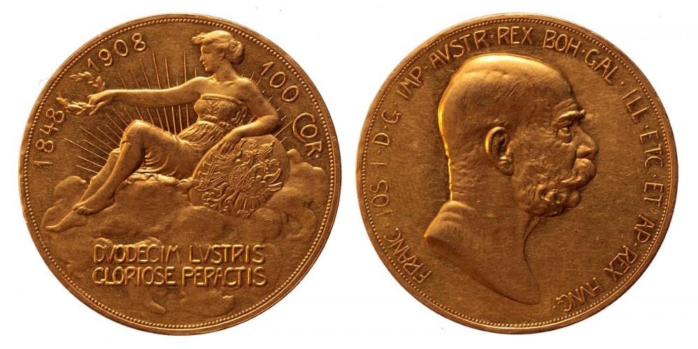 Ausztria 100 korona 1908