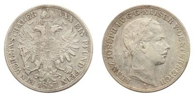 Ferenc József Vereinsthaler 1857 A