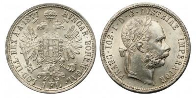 Ferenc József gulden 1877
