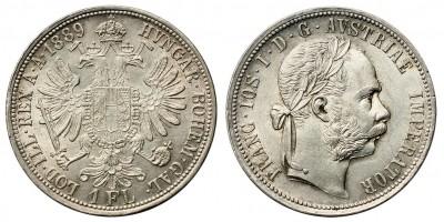 Ferenc József gulden 1889 vjn.