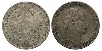 Ferenc József Vereinstaler 1865 B