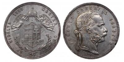 Ferenc József 1 Forint 1868 GYF