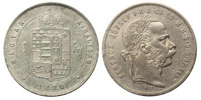 Ferenc József 1 Forint 1870 KB.
