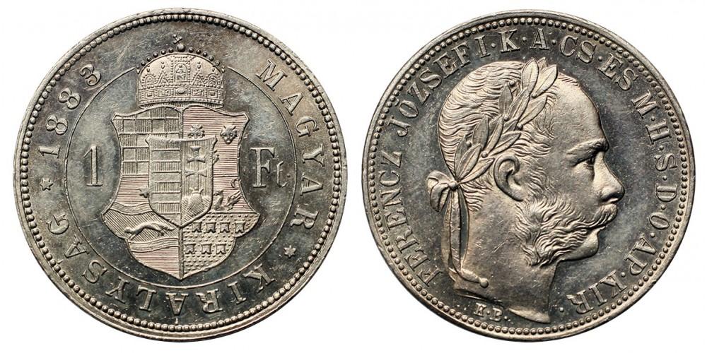 Ferenc József forint 1883 KB