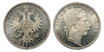 Ferenc József gulden 1866 A