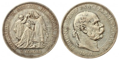 5 Korona 1907 KB.