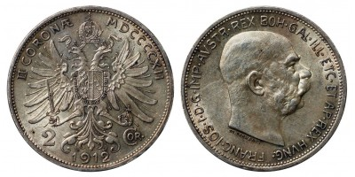 2 korona 1912
