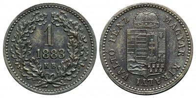 1 Krajcár 1883 KB
