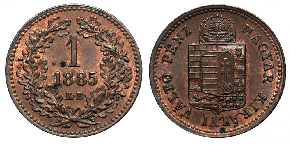 1 Krajcár 1885 KB