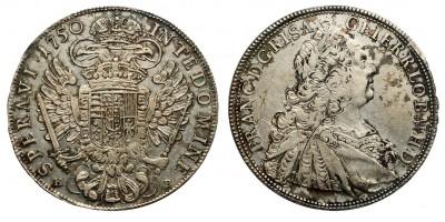 Lotharingiai Ferenc tallér 1750 KB